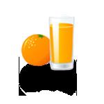 Glas Orangens**t