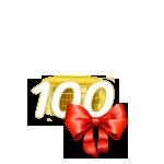 100 Coins von prallgefuellt
