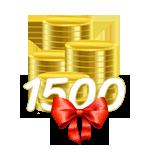 1500 Coins von tottot