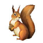 Squirrel from Bommy1953un