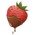 Erdbeer mit Schokolade