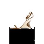 golden sandals from Vot99