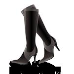 Schwarze Stiefel von Solo15