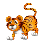 Little Tiger from tiehersweetassup