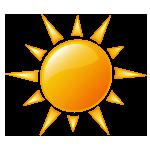 Sonne von handmanstand